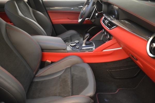 New 2019 Alfa Romeo Stelvio Quadrifoglio for sale $86,440 at Maserati of Greenwich in Greenwich CT 06830 20
