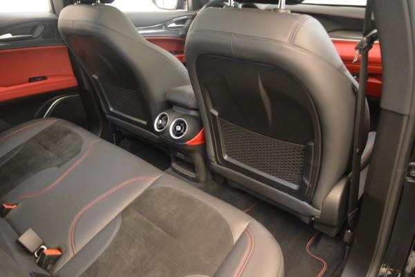 New 2019 Alfa Romeo Stelvio Quadrifoglio for sale $86,440 at Maserati of Greenwich in Greenwich CT 06830 22