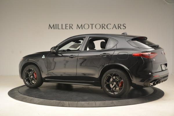 New 2019 Alfa Romeo Stelvio Quadrifoglio for sale $86,440 at Maserati of Greenwich in Greenwich CT 06830 4