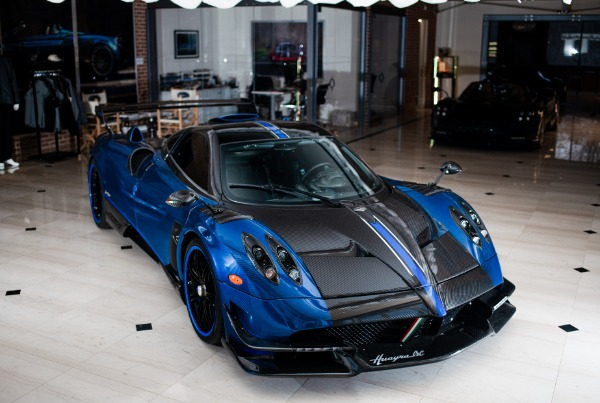 Used 2017 Pagani Huayra BC Macchina Volante for sale Call for price at Maserati of Greenwich in Greenwich CT 06830 2