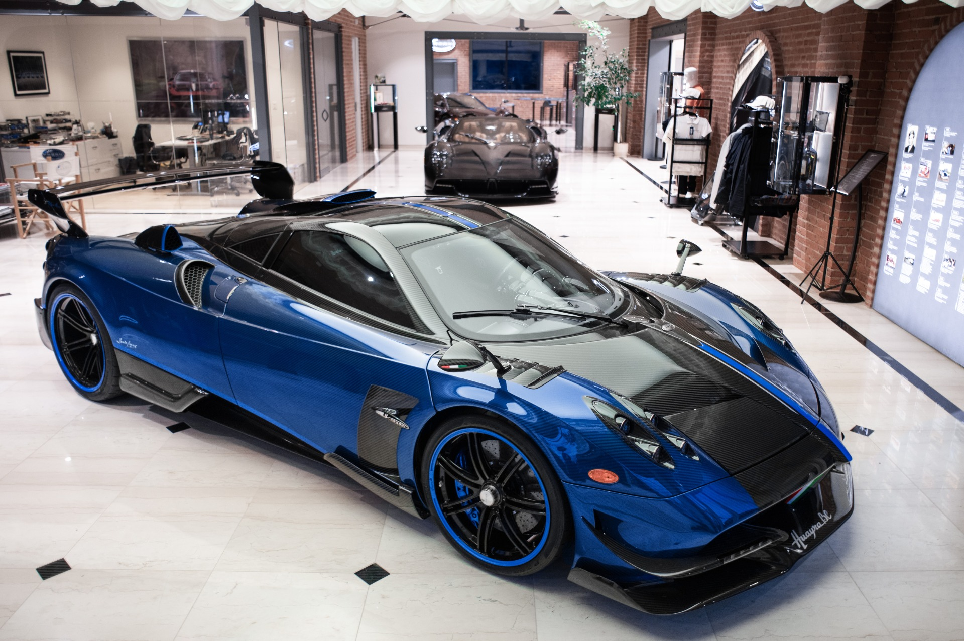 Used 2017 Pagani Huayra BC Macchina Volante for sale Call for price at Maserati of Greenwich in Greenwich CT 06830 1