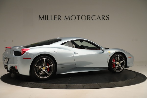 Used 2015 Ferrari 458 Italia for sale Sold at Maserati of Greenwich in Greenwich CT 06830 8