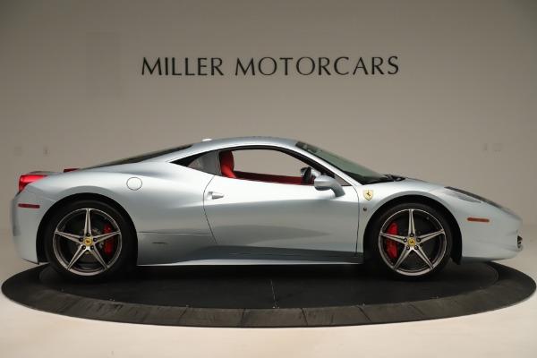 Used 2015 Ferrari 458 Italia for sale Sold at Maserati of Greenwich in Greenwich CT 06830 9