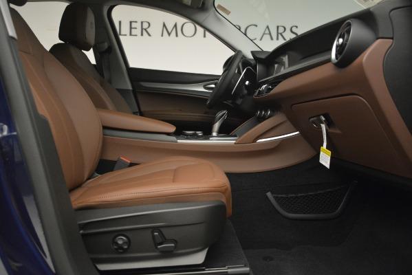 New 2019 Alfa Romeo Stelvio Sport Q4 for sale Sold at Maserati of Greenwich in Greenwich CT 06830 23