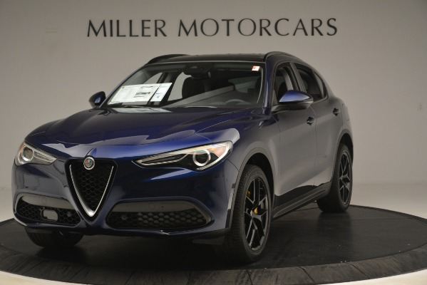 New 2019 Alfa Romeo Stelvio Sport Q4 for sale Sold at Maserati of Greenwich in Greenwich CT 06830 1