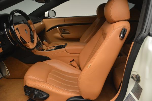 Used 2011 Maserati GranTurismo S Automatic for sale Sold at Maserati of Greenwich in Greenwich CT 06830 14