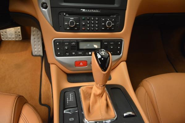 Used 2011 Maserati GranTurismo S Automatic for sale Sold at Maserati of Greenwich in Greenwich CT 06830 20