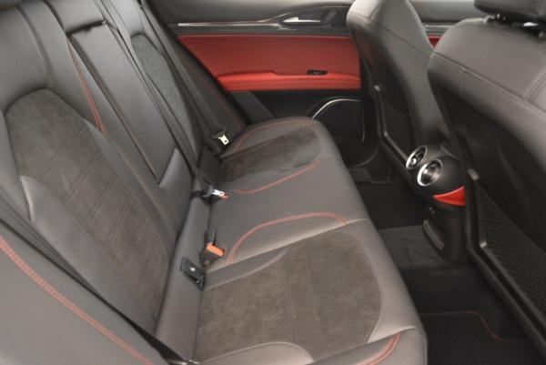 New 2019 Alfa Romeo Stelvio Quadrifoglio for sale Sold at Maserati of Greenwich in Greenwich CT 06830 24