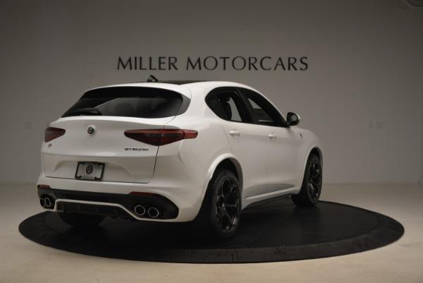 New 2019 Alfa Romeo Stelvio Quadrifoglio for sale Sold at Maserati of Greenwich in Greenwich CT 06830 7