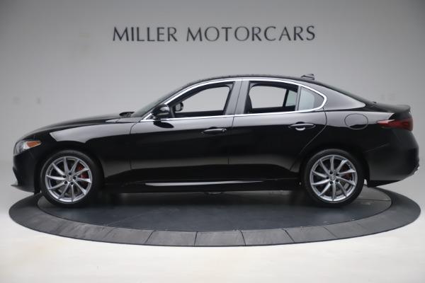 New 2019 Alfa Romeo Giulia Q4 for sale $46,140 at Maserati of Greenwich in Greenwich CT 06830 3