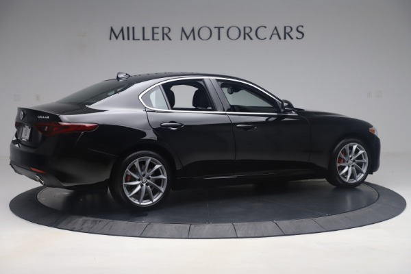 New 2019 Alfa Romeo Giulia Q4 for sale Sold at Maserati of Greenwich in Greenwich CT 06830 8