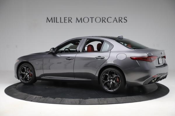 New 2019 Alfa Romeo Giulia Ti Sport Q4 for sale Sold at Maserati of Greenwich in Greenwich CT 06830 4