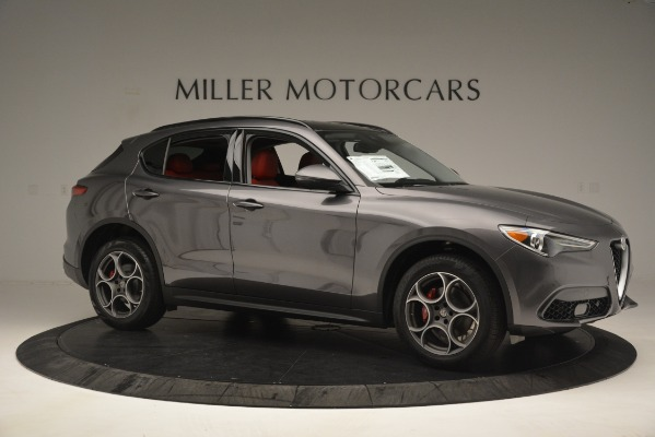 New 2019 Alfa Romeo Stelvio Sport Q4 for sale Sold at Maserati of Greenwich in Greenwich CT 06830 10