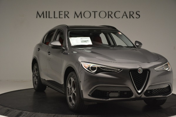 New 2019 Alfa Romeo Stelvio Sport Q4 for sale Sold at Maserati of Greenwich in Greenwich CT 06830 11