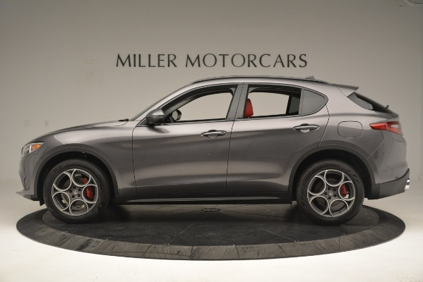 New 2019 Alfa Romeo Stelvio Sport Q4 for sale Sold at Maserati of Greenwich in Greenwich CT 06830 3