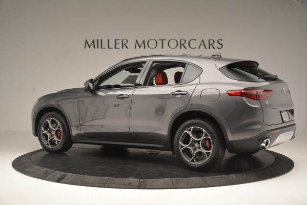 New 2019 Alfa Romeo Stelvio Sport Q4 for sale Sold at Maserati of Greenwich in Greenwich CT 06830 4