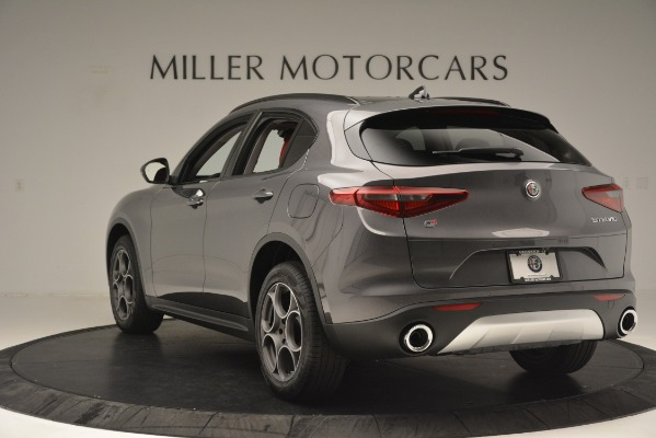 New 2019 Alfa Romeo Stelvio Sport Q4 for sale Sold at Maserati of Greenwich in Greenwich CT 06830 5