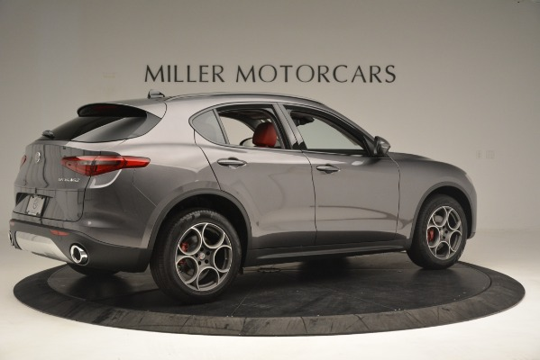 New 2019 Alfa Romeo Stelvio Sport Q4 for sale Sold at Maserati of Greenwich in Greenwich CT 06830 8