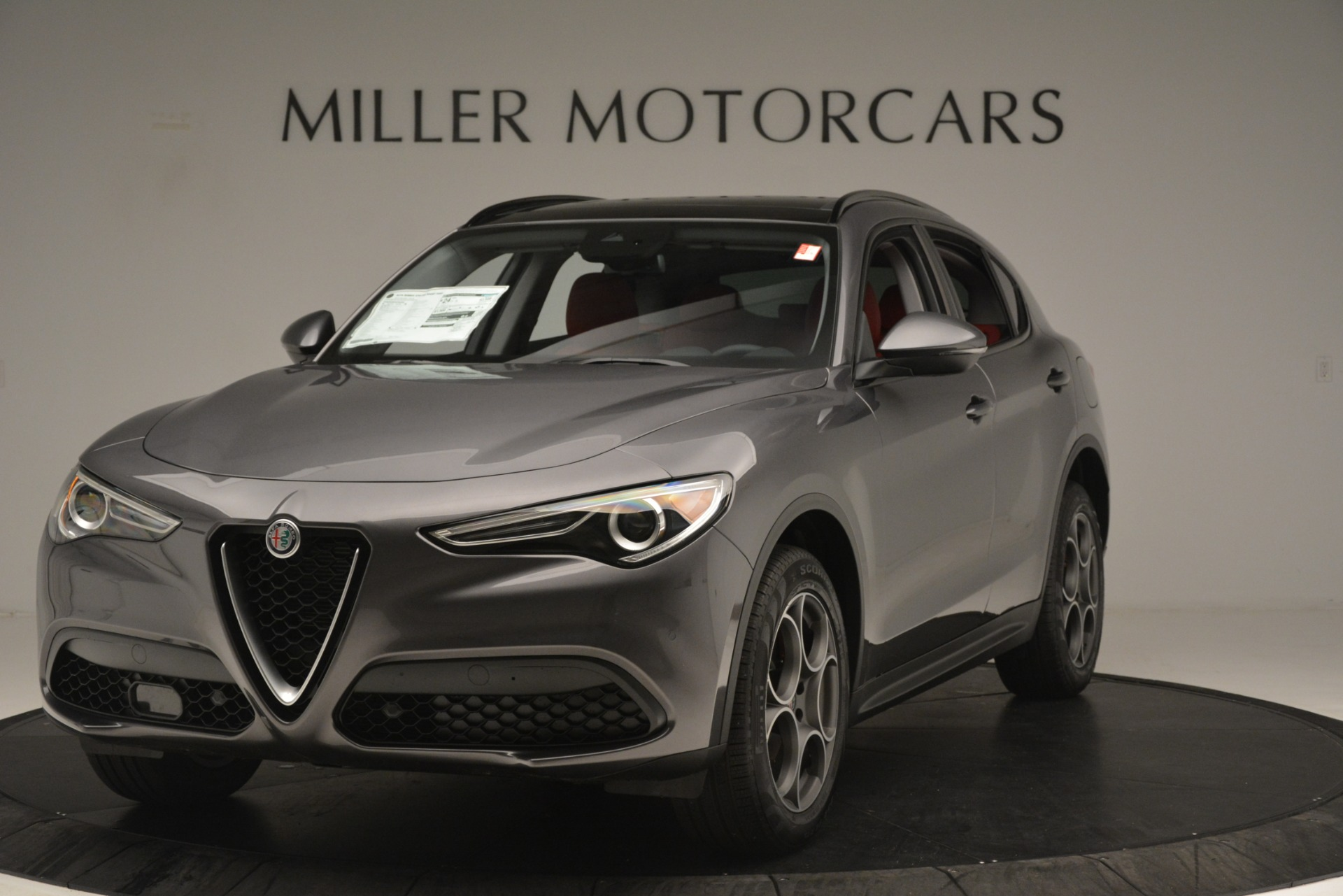New 2019 Alfa Romeo Stelvio Sport Q4 for sale Sold at Maserati of Greenwich in Greenwich CT 06830 1