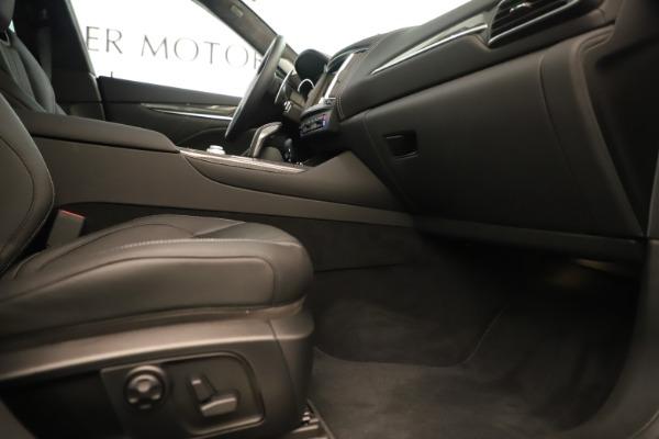 New 2019 Maserati Levante GTS for sale $133,105 at Maserati of Greenwich in Greenwich CT 06830 23