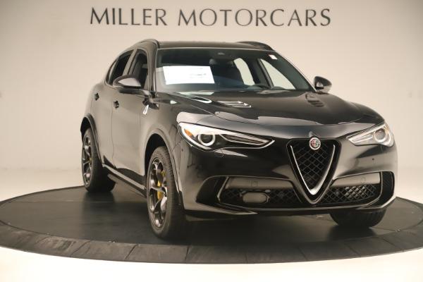 New 2019 Alfa Romeo Stelvio Quadrifoglio for sale $86,790 at Maserati of Greenwich in Greenwich CT 06830 11