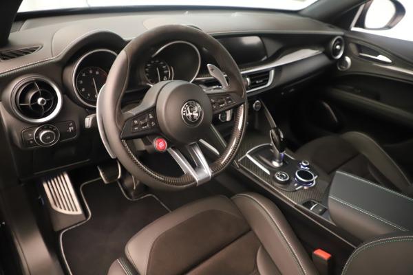 New 2019 Alfa Romeo Stelvio Quadrifoglio for sale $86,790 at Maserati of Greenwich in Greenwich CT 06830 13