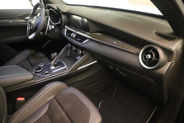 New 2019 Alfa Romeo Stelvio Quadrifoglio for sale $86,790 at Maserati of Greenwich in Greenwich CT 06830 22