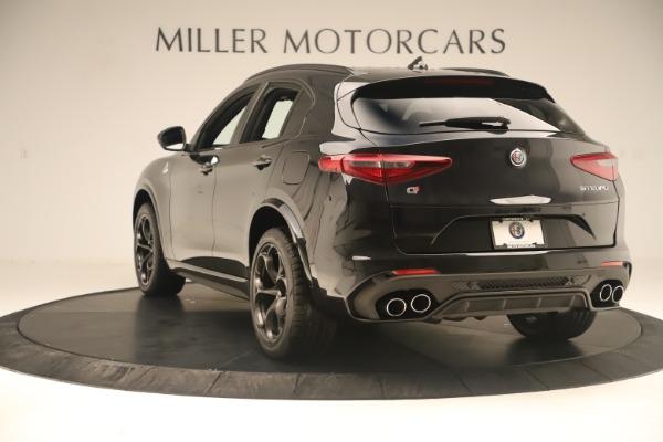 New 2019 Alfa Romeo Stelvio Quadrifoglio for sale $86,790 at Maserati of Greenwich in Greenwich CT 06830 5
