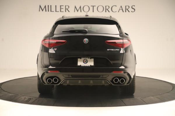 New 2019 Alfa Romeo Stelvio Quadrifoglio for sale $86,790 at Maserati of Greenwich in Greenwich CT 06830 6