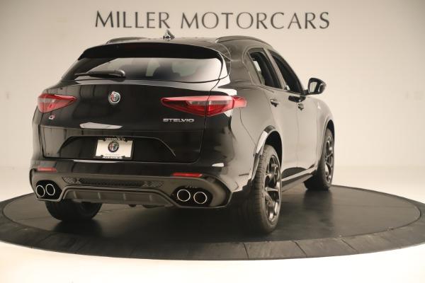 New 2019 Alfa Romeo Stelvio Quadrifoglio for sale $86,790 at Maserati of Greenwich in Greenwich CT 06830 7