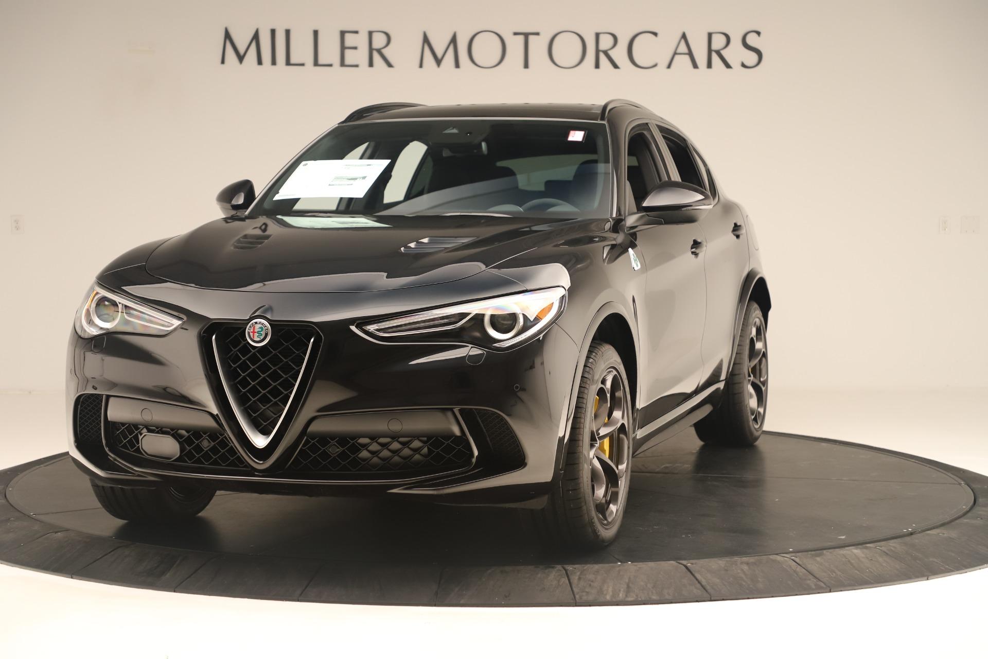 New 2019 Alfa Romeo Stelvio Quadrifoglio for sale $86,790 at Maserati of Greenwich in Greenwich CT 06830 1
