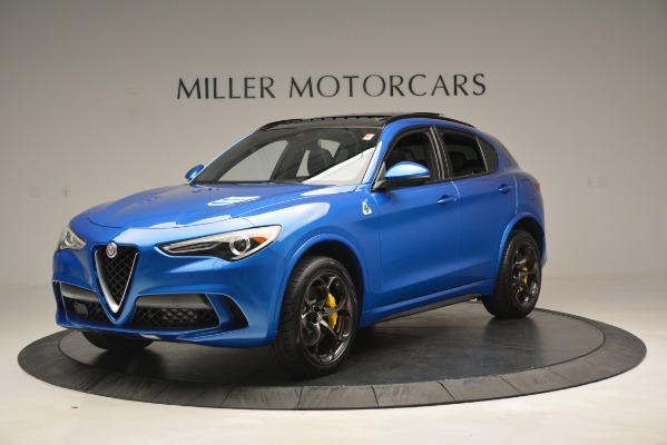 New 2019 Alfa Romeo Stelvio Quadrifoglio for sale Sold at Maserati of Greenwich in Greenwich CT 06830 2