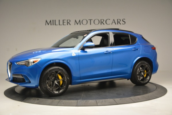New 2019 Alfa Romeo Stelvio Quadrifoglio for sale Sold at Maserati of Greenwich in Greenwich CT 06830 3