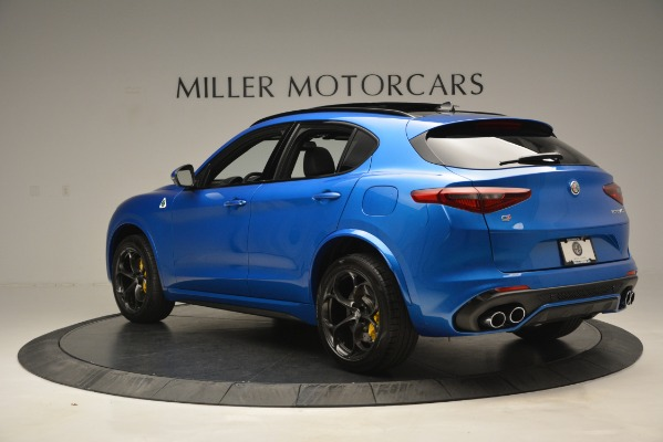 New 2019 Alfa Romeo Stelvio Quadrifoglio for sale Sold at Maserati of Greenwich in Greenwich CT 06830 7