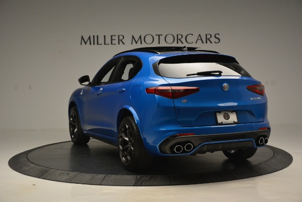 New 2019 Alfa Romeo Stelvio Quadrifoglio for sale Sold at Maserati of Greenwich in Greenwich CT 06830 8