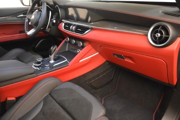 New 2019 Alfa Romeo Stelvio Quadrifoglio for sale Sold at Maserati of Greenwich in Greenwich CT 06830 19