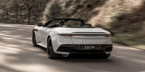 New 2020 Aston Martin DBS Convertible for sale Call for price at Maserati of Greenwich in Greenwich CT 06830 3