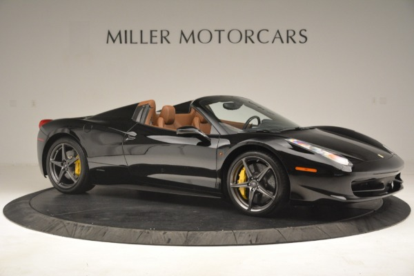 Used 2013 Ferrari 458 Spider for sale $235,900 at Maserati of Greenwich in Greenwich CT 06830 10