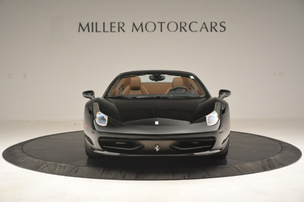 Used 2013 Ferrari 458 Spider for sale $235,900 at Maserati of Greenwich in Greenwich CT 06830 12