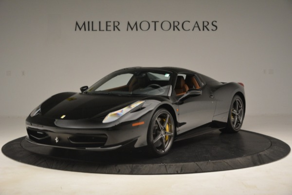 Used 2013 Ferrari 458 Spider for sale $235,900 at Maserati of Greenwich in Greenwich CT 06830 13