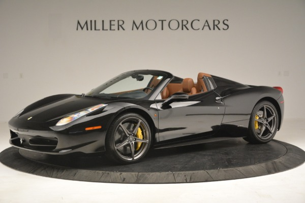 Used 2013 Ferrari 458 Spider for sale $235,900 at Maserati of Greenwich in Greenwich CT 06830 2