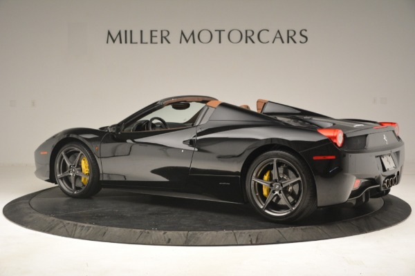 Used 2013 Ferrari 458 Spider for sale $235,900 at Maserati of Greenwich in Greenwich CT 06830 4