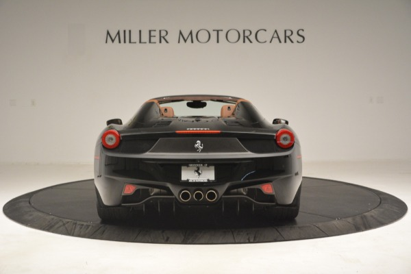 Used 2013 Ferrari 458 Spider for sale $235,900 at Maserati of Greenwich in Greenwich CT 06830 6