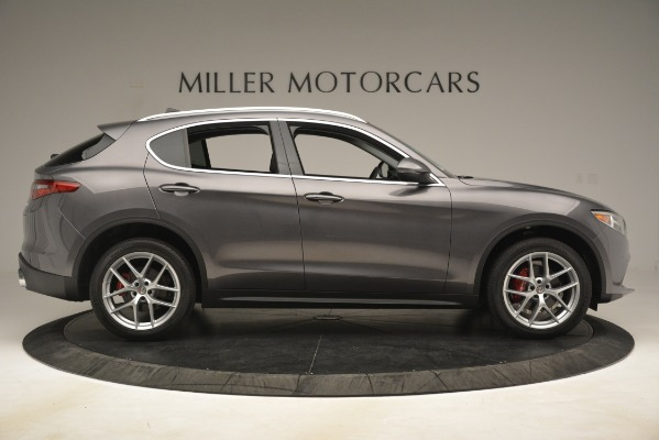 New 2019 Alfa Romeo Stelvio Ti Lusso Q4 for sale Sold at Maserati of Greenwich in Greenwich CT 06830 9