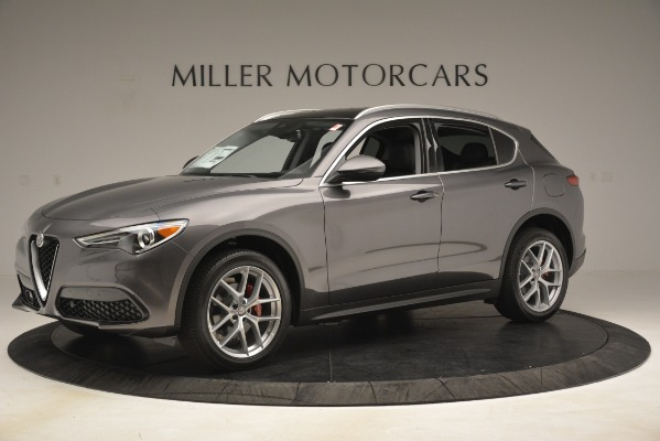 New 2019 Alfa Romeo Stelvio Ti Lusso Q4 for sale $54,390 at Maserati of Greenwich in Greenwich CT 06830 2