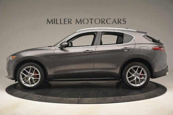 New 2019 Alfa Romeo Stelvio Ti Lusso Q4 for sale $54,390 at Maserati of Greenwich in Greenwich CT 06830 3