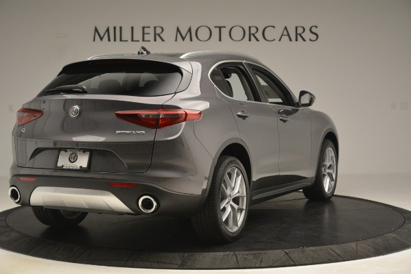 New 2019 Alfa Romeo Stelvio Ti Lusso Q4 for sale $54,390 at Maserati of Greenwich in Greenwich CT 06830 7