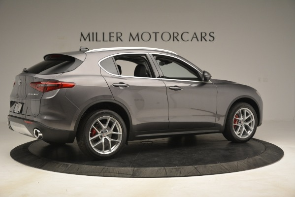 New 2019 Alfa Romeo Stelvio Ti Lusso Q4 for sale $54,390 at Maserati of Greenwich in Greenwich CT 06830 8
