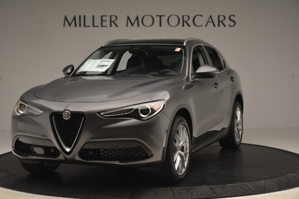 New 2019 Alfa Romeo Stelvio Ti Lusso Q4 for sale $54,390 at Maserati of Greenwich in Greenwich CT 06830 1
