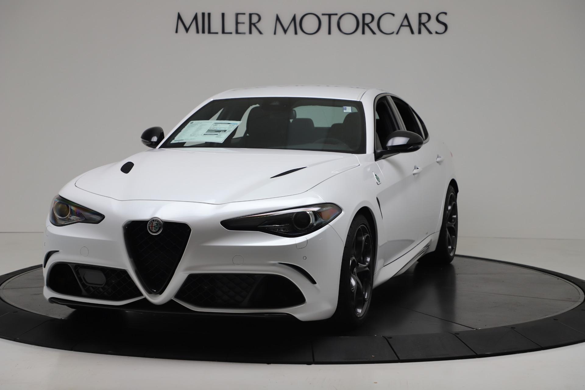 New 2019 Alfa Romeo Giulia Quadrifoglio for sale Sold at Maserati of Greenwich in Greenwich CT 06830 1